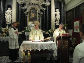 Wizytacja Księdza Biskupa w parafii Ojców-Grodzisko