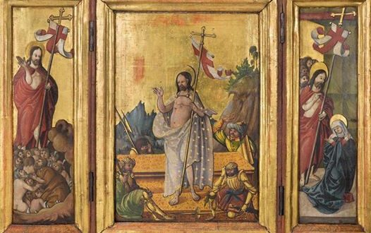 Tryptyk z ok. 1520r.